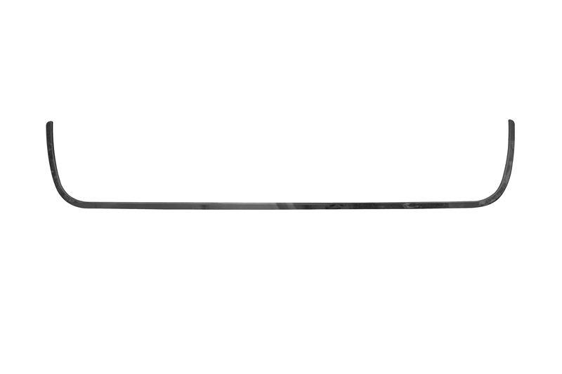 Moldura Grade Parachoque Siena Inferior (preta)